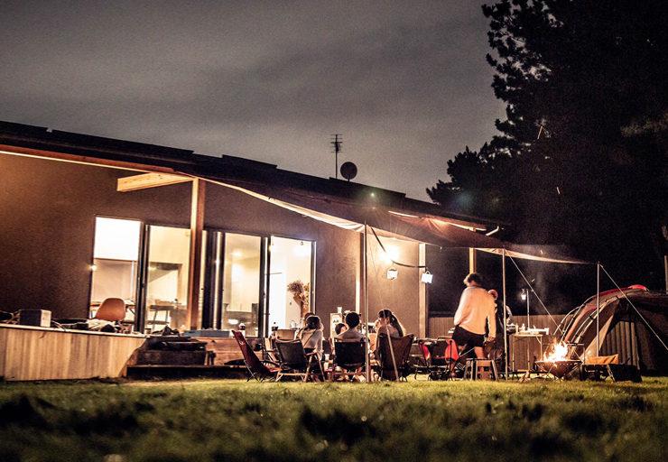接続の森・レンタルスペース・キャンプ
